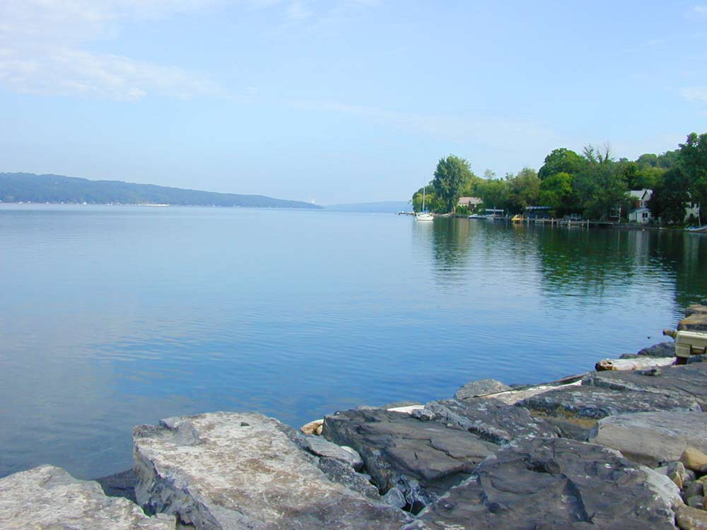Cayuga Lake two days AFTER our Lake